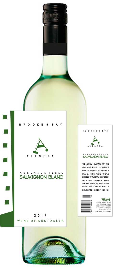 Adelaide Hills 2019 Sauvignon Blanc white wine x 6 pack FREE DELIVERY