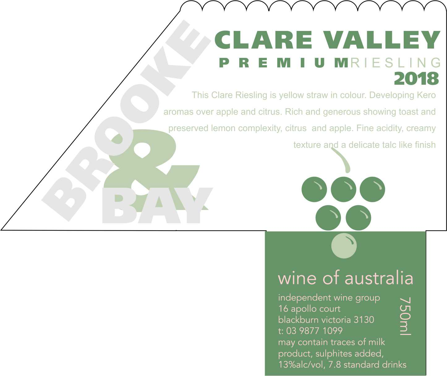 CLARE VALLEY PREMIUM RIESLING