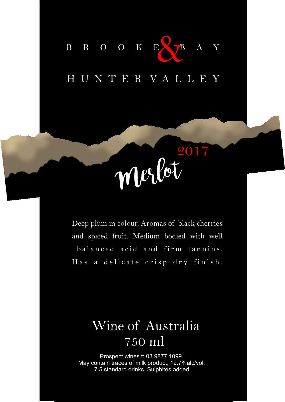 HUNTER VALLEY MERLOT