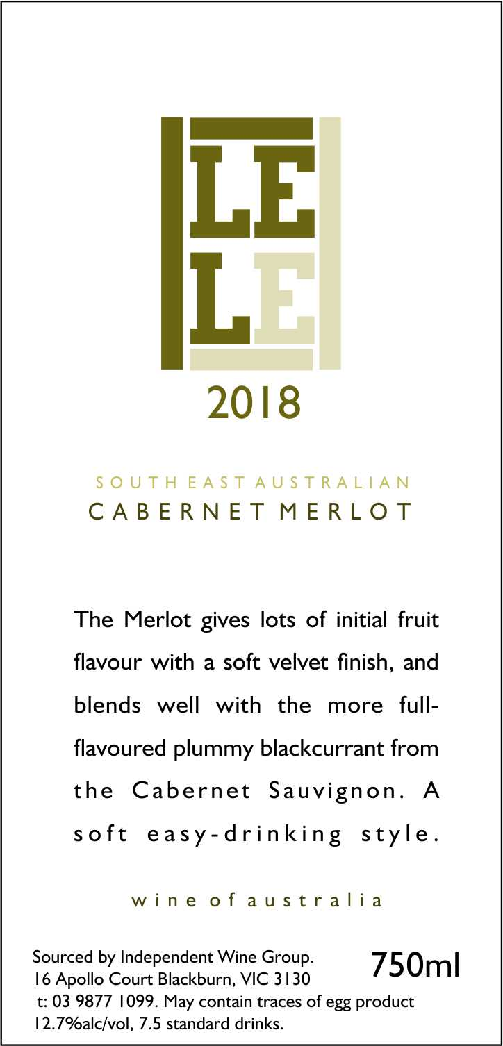 SOUTH EAST AUSTRALIAN CABERNET MERLOT