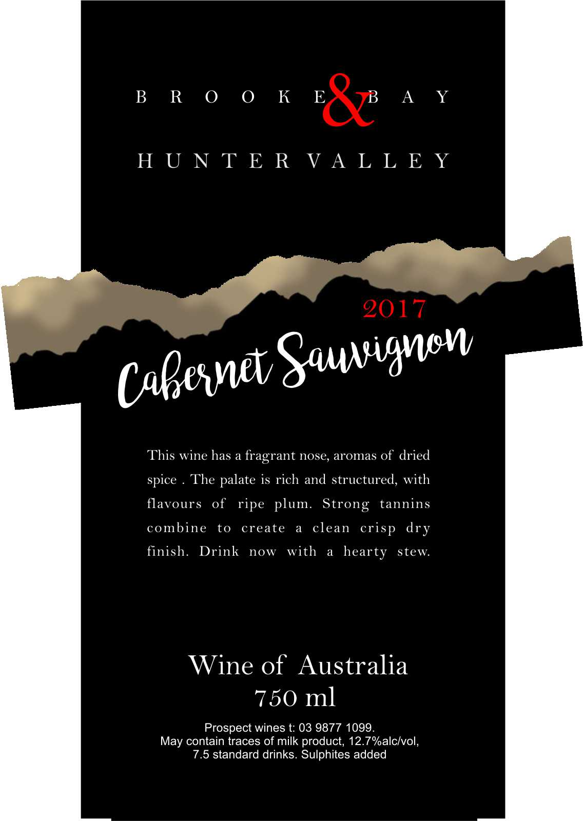 HUNTER VALLEY CABERNET SAUVIGNON