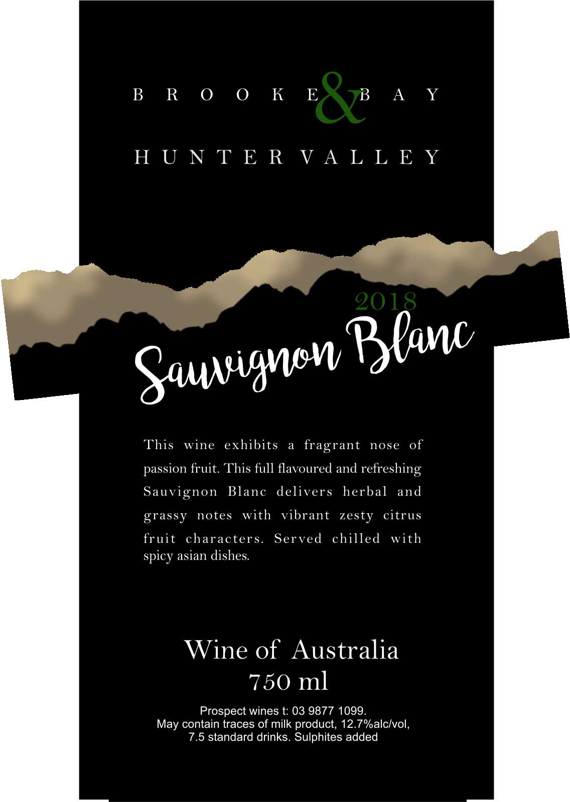 HUNTER VALLEY SAUVIGNON BLANC