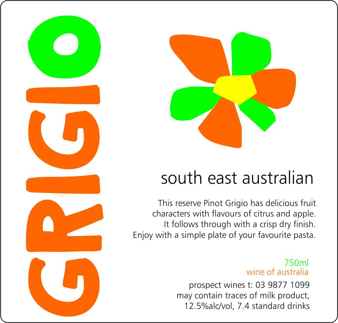 SOUTH EAST AUSTRALIAN PINOT GRIGIO